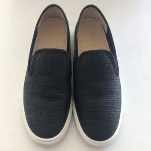 Vince Camuto Black Slip On Shoes